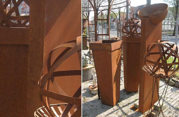 Deko objekte vertiko antik for Deko aus edelrost