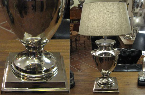 Tischlampe vertiko antik for Lampen hochwertig