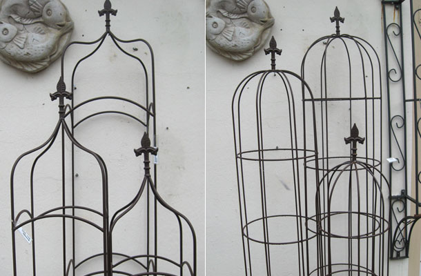 rankhilfe obelisk vertiko antik. Black Bedroom Furniture Sets. Home Design Ideas